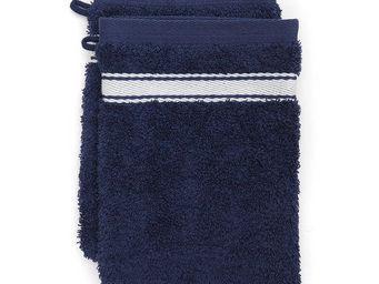 Jean Vier - grand h�tel invers� indigo - Gant De Toilette