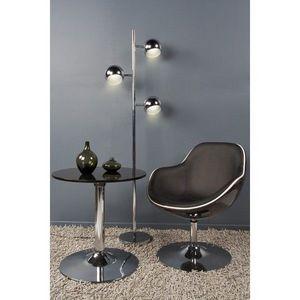KOKOON DESIGN - fauteuil de salon design en similicuir louisiane - Fauteuil