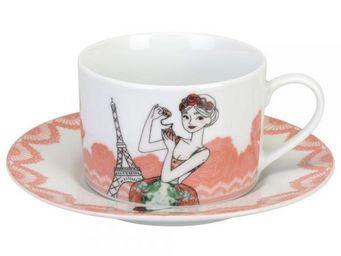 La Chaise Longue - set de 2 tasses � th� eloise - Tasse � Caf�