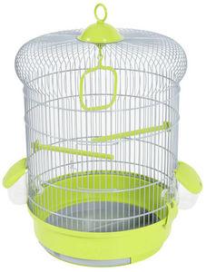 ZOLUX - cage oiseaux coquelicot verte 35x35x48cm - Cage À Oiseaux