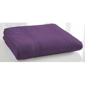 TODAY - serviette de bain unie 70 x 130 cm - couleur - vio - Serviette De Toilette