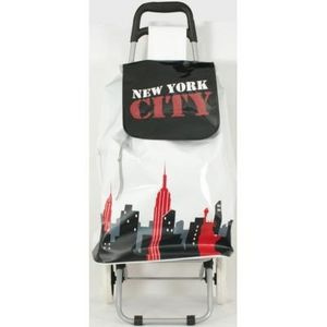 FAYE - chariot de course new york rouge - Chariot De March�