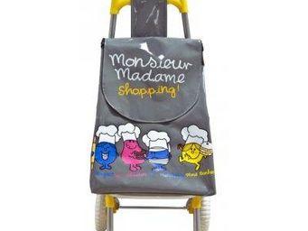 Cm - chariot de course mr et mme shopping - Chariot De Marché