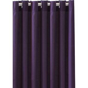 TODAY - rideau occultant à oeillets deep purple - Rideaux Prêts À Poser