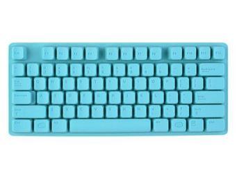 La Chaise Longue - moule à glaçons clavier turquoise - Bac À Glaçons