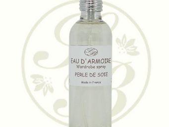 Savonnerie De Bormes - eau d'armoire - perle de soie - 100 ml - savonner - Parfum D'intérieur