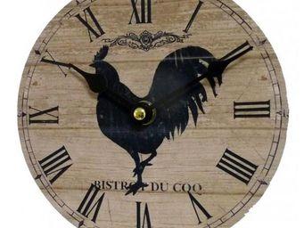 L'HERITIER DU TEMPS - pendule murale coq ø16.5cm - Horloge Murale
