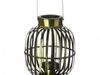 La Chaise Longue - lanterne shinny verte - Lanterne D'extérieur