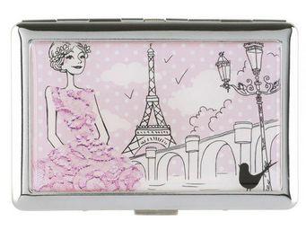 La Chaise Longue - etui � cigarettes les parisiennes la romantique - Etui � Cigarettes