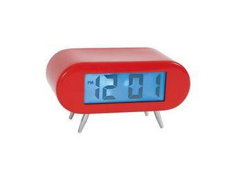 La Chaise Longue - réveil horloge avec lampe rouge - Réveil Matin Enfant