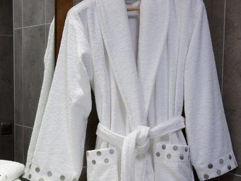 Essix home collection - peignoir venezia blanc - Peignoir De Bain