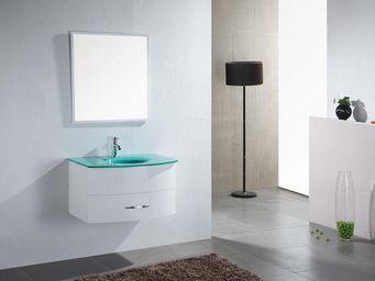 UsiRama.com - meuble salle de bain ecochic 80cm - Meuble De Salle De Bains