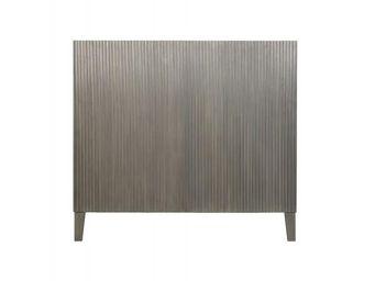 BLANC D'IVOIRE - audrey 180 gris foncé - Tête De Lit