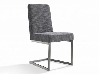 BELIANI - arctic gris - Chaise