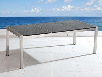 BELIANI - grosseto gris poli - Table De Jardin