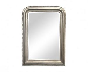 Demeure et Jardin - miroir argenté style louis philippe - Miroir