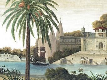 Ananbô - varanasi - Papier Peint Panoramique