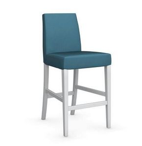 Calligaris - chaise de bar latina de calligaris aigue marine et - Chaise Haute De Bar