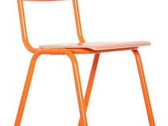 ZUIVER - chaise zuiver back to school oranges - Chaise