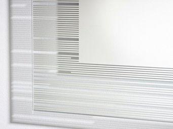 WHITE LABEL - lothal xl miroir mural design en verre - Miroir