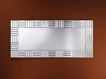 WHITE LABEL - strummer miroir mural design en verre - Miroir