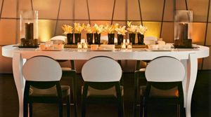 Calligaris - table repas extensible ovale regency blanche 170x1 - Table De Repas Ovale