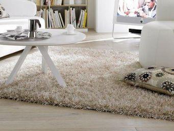 WHITE LABEL - feeling tapis épais crème 170x240 cm - Tapis Contemporain