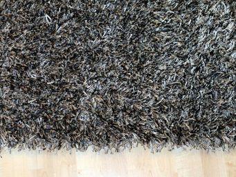WHITE LABEL - feeling tapis épais gris foncé - 170x240 cm - Tapis Contemporain