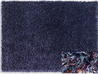 WHITE LABEL - feeling tapis épais bleu mauve 200x300 cm - Tapis Contemporain