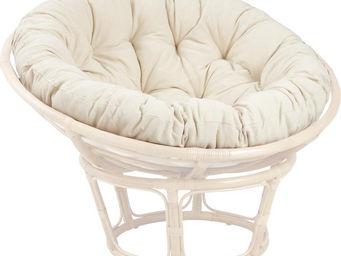 Aubry-Gaspard - coussin pour fauteuil papasan - Coussin De Si�ge De Jardin