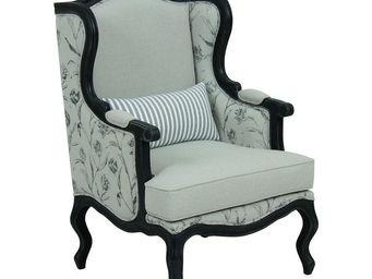 Interior's - fauteuil césarine clair obscur - Bergère À Oreilles