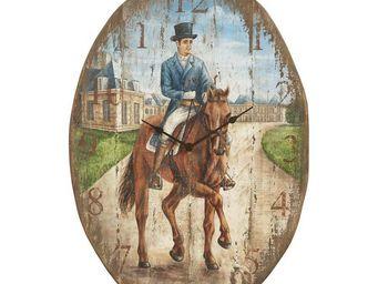 Interior's - horloge haras - Horloge Murale
