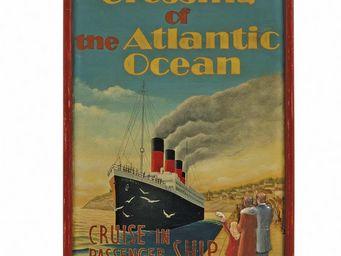Interior's - enseigne atlantic ocean - Décoration Murale