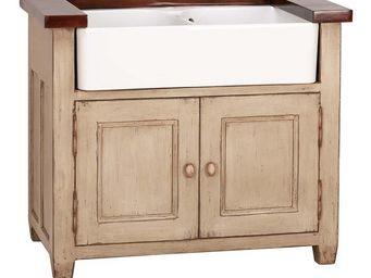 Interior's - meuble �vier 2 bacs - Meuble Sous �vier
