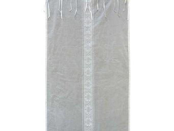 Interior's - voilages gris coton 110x250 - Voilage
