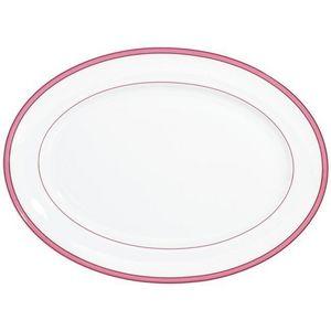 Raynaud - tropic rose - Plat Ovale
