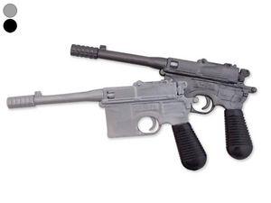 WHITE LABEL - stylo revolver noir crayon insolite original - Stylo À Bille