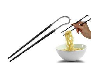 WHITE LABEL - baguettes en style nunchaku deco maison ustensile - Baguette Chinoise