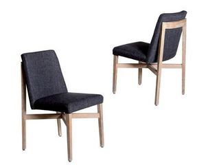 Mathi Design - lot de 2 chaises trianon - Chaise