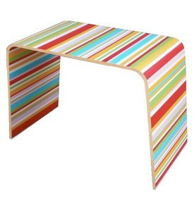 Mathi Design - table basse d'appoint stripes - Console