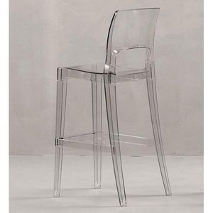 Mathi Design - tabouret transparent easy - Chaise Haute De Bar