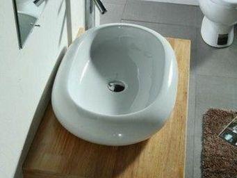 UsiRama.com - meuble salle de bain en bois massif sibo (70cm) - Meuble De Salle De Bains