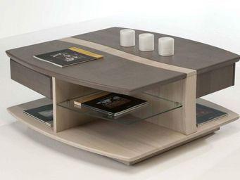 Ateliers De Langres -  - Table Basse Carrée