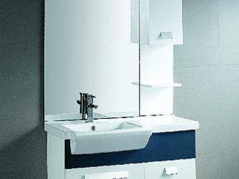 UsiRama.com - ensemble meuble salle de bain navi-1 - Meuble Vasque