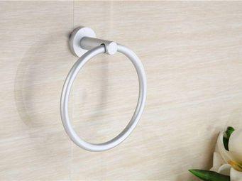 UsiRama.com - porte serviette anneau alu - Anneau Porte Serviette