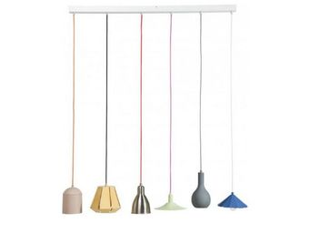Kare Design - suspension linéaire el mundo dining 6l multicouleu - Suspension