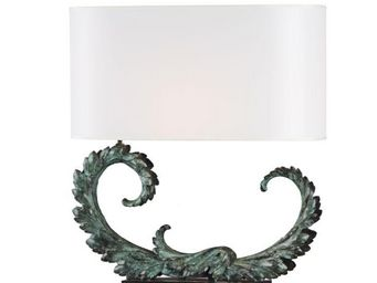 Delisle - acanthe - Lampe � Poser