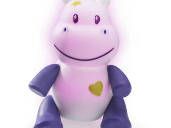 PABOBO - lumilove savanoo - veilleuse rechargeable hippo    - Veilleuse