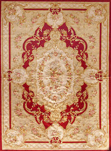 EDITION BOUGAINVILLE - stael rouge - Tapis D'aubusson