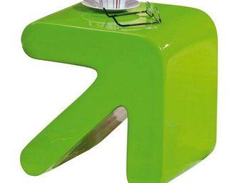 WHITE LABEL - table d'appoint design erati verte - Table D'appoint